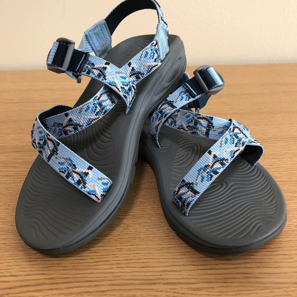 8d7e753cc Chaco Shoes - Women s Chaco Zvolv Sandal Size 7 French Blue